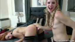 Favourite french horny queen Adriannna fists young girlfriend