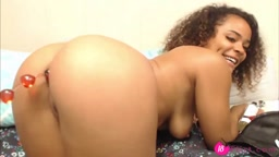 Barely 18 black booty goddess Dani Dolce with a big ass