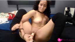 18 kitten feeling pain while penetrates her tight vagina