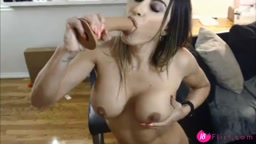 Amazing Porn star Claudia with natural big boobs