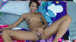 Gorgeous eighteen ebony girl Layla with a perfect body