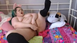 Plump BBW princess Christina is going to drive you wild