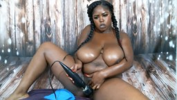 Sweet black BBW goddess Marie with amazing massive tits