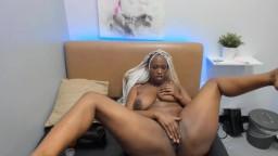 Fucking amazing black babe Joi DeViv fucks pierced cunt