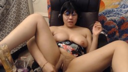 Talkative princess Kitty with big titties and hairy bush