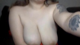 20yo chubby blonde chick Hailey Rae with DDD tits!