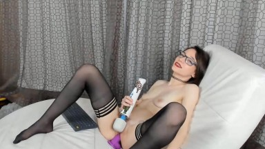 Slender tattooed student Jesse Spark open to any requests