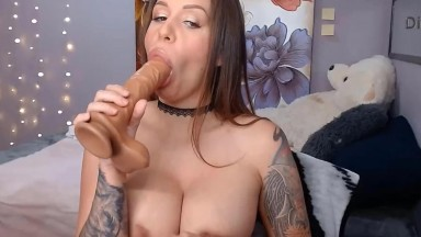 Delicious brunette Natasha wants you to play with her