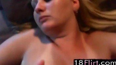 Sexy amateur couple get hardcore fucked for the web
